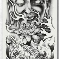 Tato/Tatto temporary/Tatto Temporer/ tatto design terbaru17x46 TQB037