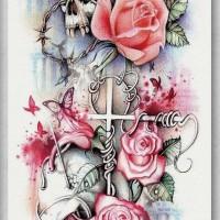 Tato/Tatto temporary/Tatto Temporer/ tatto design terbaru17x46 TQB015