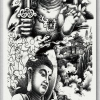 Tato/Tatto temporary/Tatto Temporer/ tatto design terbaru17x46 TQB028