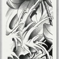 Tato/Tatto temporary/Tatto Temporer/ tatto design terbaru17x46 TQB031