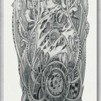 Tato/Tatto temporary/Tatto Temporer/ tatto design terbaru17x46 TQB024