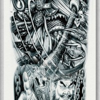 Tato/Tatto temporary/Tatto Temporer/ tatto design terbaru17x46 TQB020