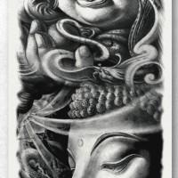Tato/Tatto temporary/Tatto Temporer/ tatto design terbaru17x46 TQB025