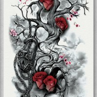 Tato/Tatto temporary/Tatto Temporer/ tatto design terbaru17x46 TQB006