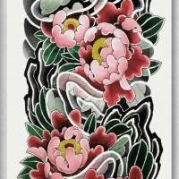 Tato/Tatto temporary/Tatto Temporer/ tatto design terbaru17x46 TQB036