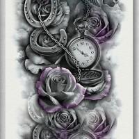 Tato/Tatto temporary/Tatto Temporer/ tatto design terbaru17x46 TQB004