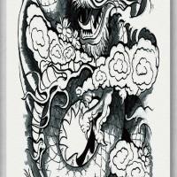 Tato/Tatto temporary/Tatto Temporer/ tatto design terbaru17x46 TQB019