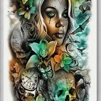 Tato/Tatto temporary/Tatto Temporer/ tatto design terbaru17x46 TQB010