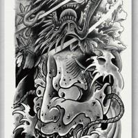 Tato/Tatto temporary/Tatto Temporer/ tatto design terbaru17x46 TQB027