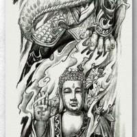 Tato/Tatto temporary/Tatto Temporer/ tatto design terbaru17x46 TQB029