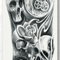 Tato/Tatto temporary/Tatto Temporer/ tatto design terbaru17x46 TQB021