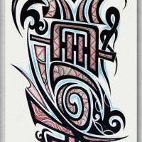 Tato/Tatto temporary/Tatto Temporer/ tatto design terbaru17x46 TQB016