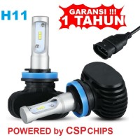 LED H11 Lampu Mobil Powerful With CSP Chips