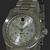 Jam Tangan Pria Victorinox Swiss Army 25 jewels Automatic original