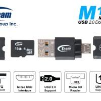 Team M141 Card Reader OTG Support MicroSD Micro USB
