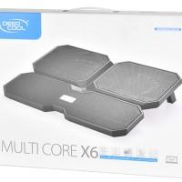 Kipas Laptop 4 Fan Deep Cool Multi Core X6 Cooling Pad Fan