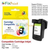 Cartridge Tinta Recycle Canon CL811 Color, Canon IP2770 MP258 MP287