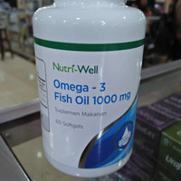 Nutriwell Omega 3 Fish Oil 1000MG isi 60
