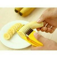 Banana Cutter Pemotong Pisang buah sosis stainless steel berkualitas