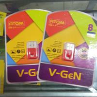 FLASHDISK V-GEN ATOM 8GB - Kuning