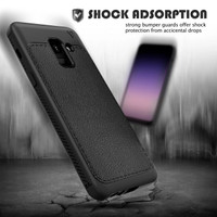 Samsung Galaxy A6 Plus / A6+ 2018 Leather Gentry Series Case