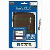 BEST QUALITY HORI New Nintendo 3DS LL XL Slim Hard Pouch Case (Black)