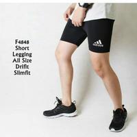 Celana Legging Short Adidas Pria Sport Running Fitness Renang