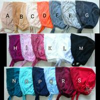 Ciput Kaos Brokat Tali Inner Dalaman Kaos Brokat Jilbab Kerudung Hijab