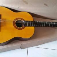 Gitar akustik elektrik classic yamaha