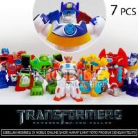 7pc Transformers Action figure set -Robot Transformer