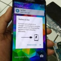 LCD samsung S5 ORi mulus Copotan Normal plus fingger