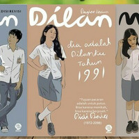 DILAN paket 3 novel ORIGINAL