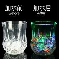 GELAS LED SENSOR LED /INTRODUCTIVE RAINBOW COLOR CUP