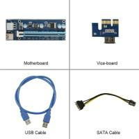 PCI-E PCIE Express Riser 006c Card 1x to 16x 006c vga mining gpu eth