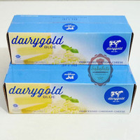 Dairygold Blue keju cheddar olahan 2kg