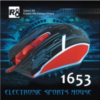 Mouse Gaming R8 - 1653 (USB Cable)