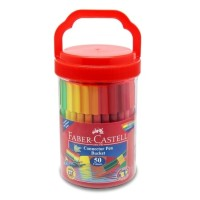 Faber Castell Connector Pen 50 Colors Spidol Warna
