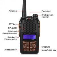 Radio Walkie Handy Talky HT BAOFENG POFUNG Dual Band 7W UV-6R
