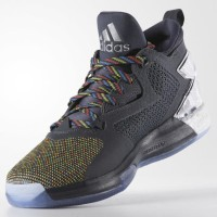 Sepatu Basket Adidas Damian Lillard 2 March Madness x Air Jordan