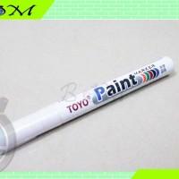 spidol marker ban tyre toyo paint warna putih white