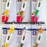 Termometer anak karakter/ thermometer child digital elastis/ Alat ukur