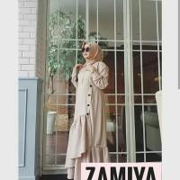 Produksi baju muslim Toyobo zamiya kancing layer samping
