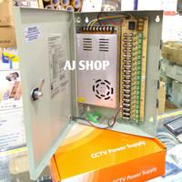 Power Supply CCTV Central Box 30A 12V / Panel Box 12V/30A AC to DC