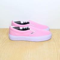 Sepatu Vans Slip On Checker Board Pink Premium Quality