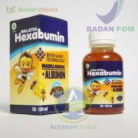 Walatra Hexabumin (Madu Plus Albumin) Untuk Nutrisi Terbaik Anak
