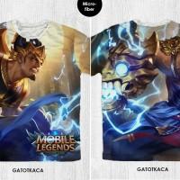 Kaos Anak & Dewasa - Game Mobile Legend - Gatotkaca