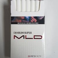 ROKOK DJARUM SUPER MILD MLD 20 batang - Jarum LMD Putih