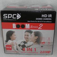 SPC Super premium CCTV 2.0MP HD IR Dome Camera BooM series 2 4 in 1