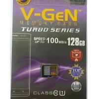 MicroSD V-GeN Turbo 128GB Class 10 85MB/S (MicroSD VGEN Memory HP)
