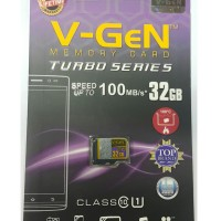 MicroSD V-GeN Turbo 32GB Class 10 85MB/S (MicroSD VGEN Memory HP)